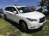 Options:  2014 Infiniti Qx60 Premium|White|Abs