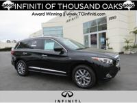 Options:  2014 Infiniti Qx60 Fwd 4Dr|Certified