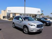 Options:  2014 Infiniti Qx60 Base|Silver|5.17 Axle