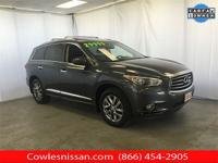 CARFAX One-Owner. Clean CARFAX. Gray 2014 INFINITI QX60