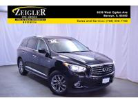 Recent Arrival! 2014 INFINITI QX60 Black *ONE OWNER*,