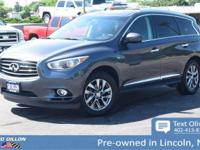 This INFINITI QX60 has a strong Premium Unleaded V-6