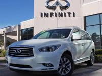 2014 Infiniti QX60, Certified Pre-Owned Vehicle,