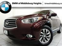 This Infiniti QX60 delivers a Premium Unleaded V-6 3.5