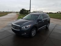We are excited to offer this 2014 INFINITI QX60. Drive