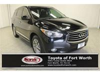 NON-SMOKER, LOCAL TRADE! This QX60 comes LOADED and is
