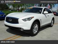This well-kept Infiniti QX70 comes complete with a