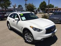 Options:  2014 Infiniti Qx70 Base|White|Infiniti