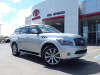 We are excited to offer this 2014 INFINITI QX80. When