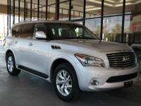 ** QX80 LUXURY SUV ** NAVIGATION ** 1 OWNER **with**