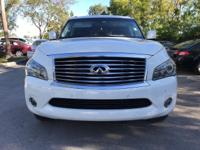 Options:  2014 Infiniti Qx80 Base|Moonlight White/|V8