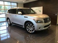 Liquid Platinum 2014 INFINITI QX80 4WD 7-Speed