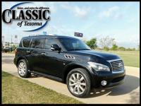 CARFAX One-Owner. Clean CARFAX. Black 2014 INFINITI