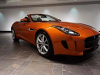 **CERTIFIED** This 2014 Jaguar F-TYPE S Convertible is