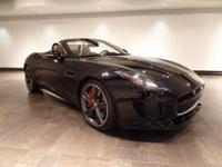 **CERTIFIED** This F-TYPE V8 S Convertible is being