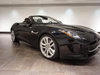 **CERTIFIED** This 2014 Jaguar F-TYPE V8 S Convertible