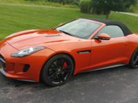 2014 Jaguar F-Type V8S Convertible Rear Wheel Drive!