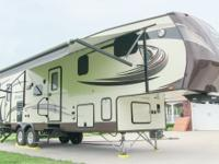 2014 Jayco Eagle 34.5BHTS bunkhouse fifth wheel, fully