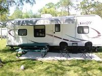 The RV is a 2014 Jay Flight Swift 2 Travel Trailer,