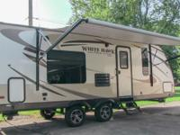 2014 Jayco White Hawk 24RBS Ultra-Lite travel trailer,