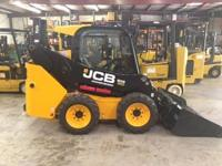 2014 JCB 205W Unit is new 60hp cab standard flow 2