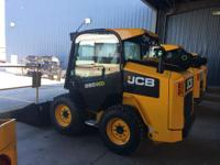 2014 JCB 260 Cab-Heat-A/C High Flow 2 Speed QuickHitch