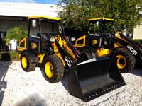 2014 JCB 407B the most flexible loader on the market