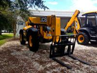 2014 JCB 509-42 Unit prepares to go to work today!