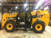 2014 JCB 509-42 Full Cab with A/C Servo: 2 Lever 1 Aux