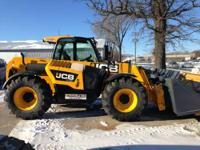 2014 JCB 541-70 Full Cab with A/C Servo: 2 Lever 1 Aux