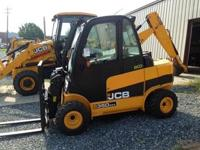 2014 JCB TLT35D Unit is new 74 hp 7700 lb lift capacity