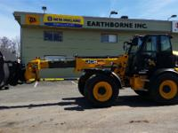 EcoMAX T4i engine JCB Smooth Ride System Industrial