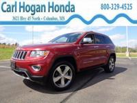 This 2014 Jeep Grand Cherokee 4d SUV 4WD Limited is a