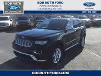 Black Metallic 2014 Jeep Grand Cherokee Summit 4WD