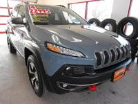 TRAILHAWK 4X4 W/LEATHER - CERTIFIED,PRICE JUST REDUCED