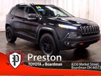 Great service history / clean Jeep Cherokee Trailhawk.