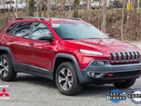 2014 Jeep Cherokee Trailhawk Burgundy Jeep Cherokee