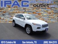 2014 Jeep Cherokee Latitude, Bright White with