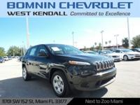 CARFAX One-Owner. Blue 2014 Jeep Cherokee Sport FWD