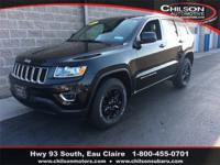2014 Jeep Grand Cherokee Laredo Black One Owner, 4X4,
