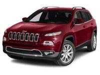 Step into the 2014 Jeep Cherokee! It comes equipped
