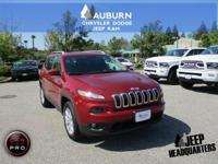 4WD, BLUETOOTH, HEATED SEATS!  This 2014 Jeep Cherokee