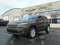 Step into the 2014 Jeep Cherokee! A great vehicle and a
