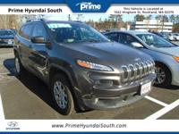 Recent Arrival! 2014 Jeep Cherokee Latitude 4WD Gray
