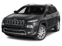 Load your family into the 2014 Jeep Cherokee! Now more