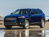 Cherokee Latitude W/ Rear Backup Camera, Jeep