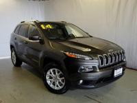 Options:  2014 Jeep Cherokee Latitude|Gray|New Price!