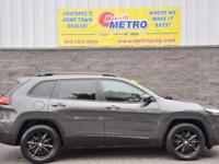 2014 Jeep Cherokee Latitude  in Granite Crystal