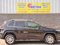 2014 Jeep Cherokee Latitude  in Brilliant Black Crystal