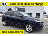 This 2014 Jeep Cherokee is a Jeep Factory Certified